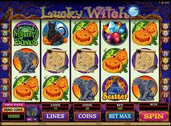 Lucky Witch 5